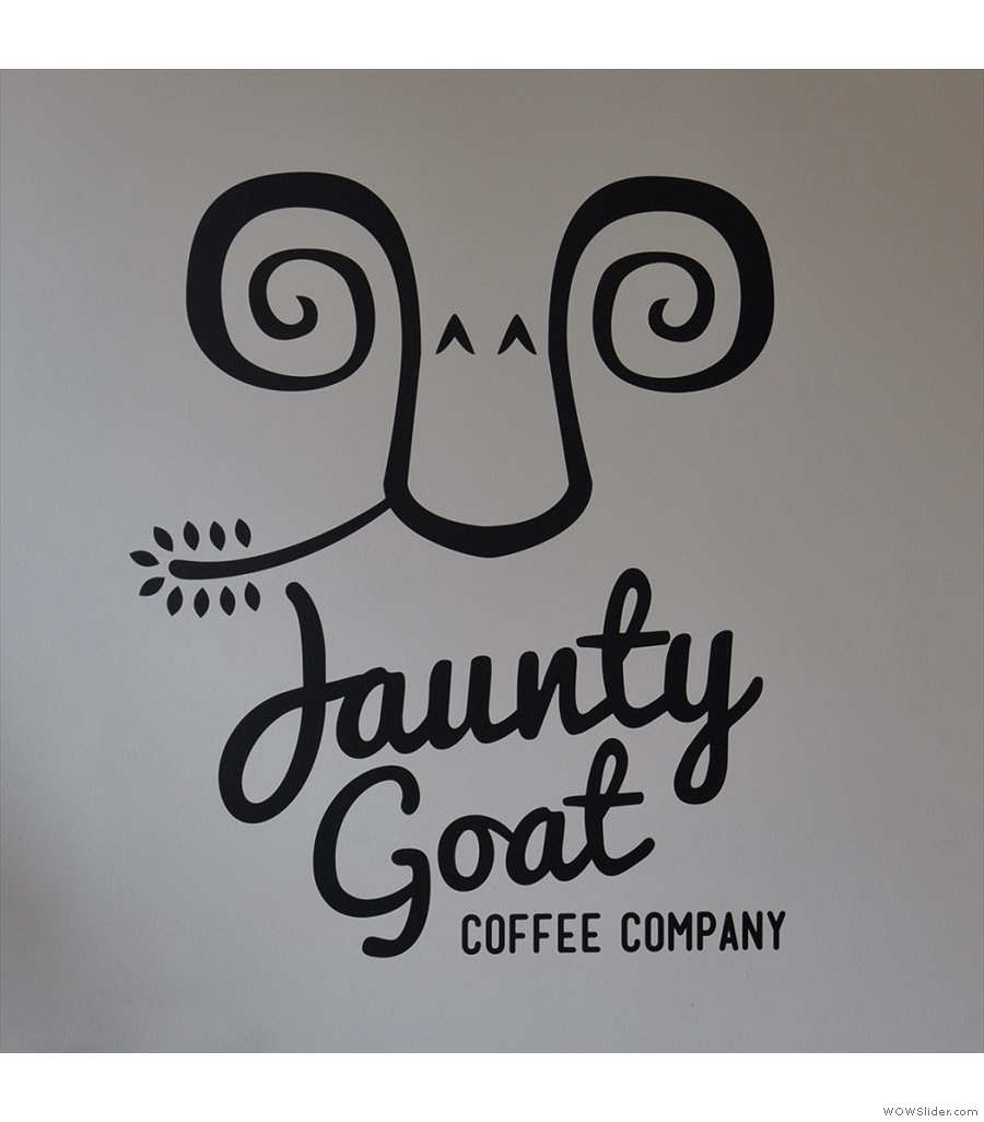 ... and over to Chester, where Jaunty Goat is now roasting its own coffee.