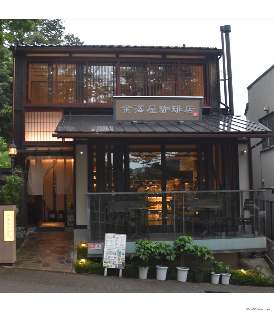 Heading east rather than west, it's Kanazawaya Coffee Shop Head Office in Japan.