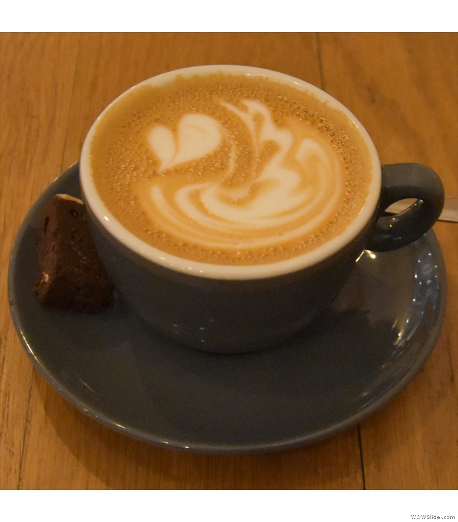 Next, it's Liverpool and Bold Street Coffee, where I had this great flat white.