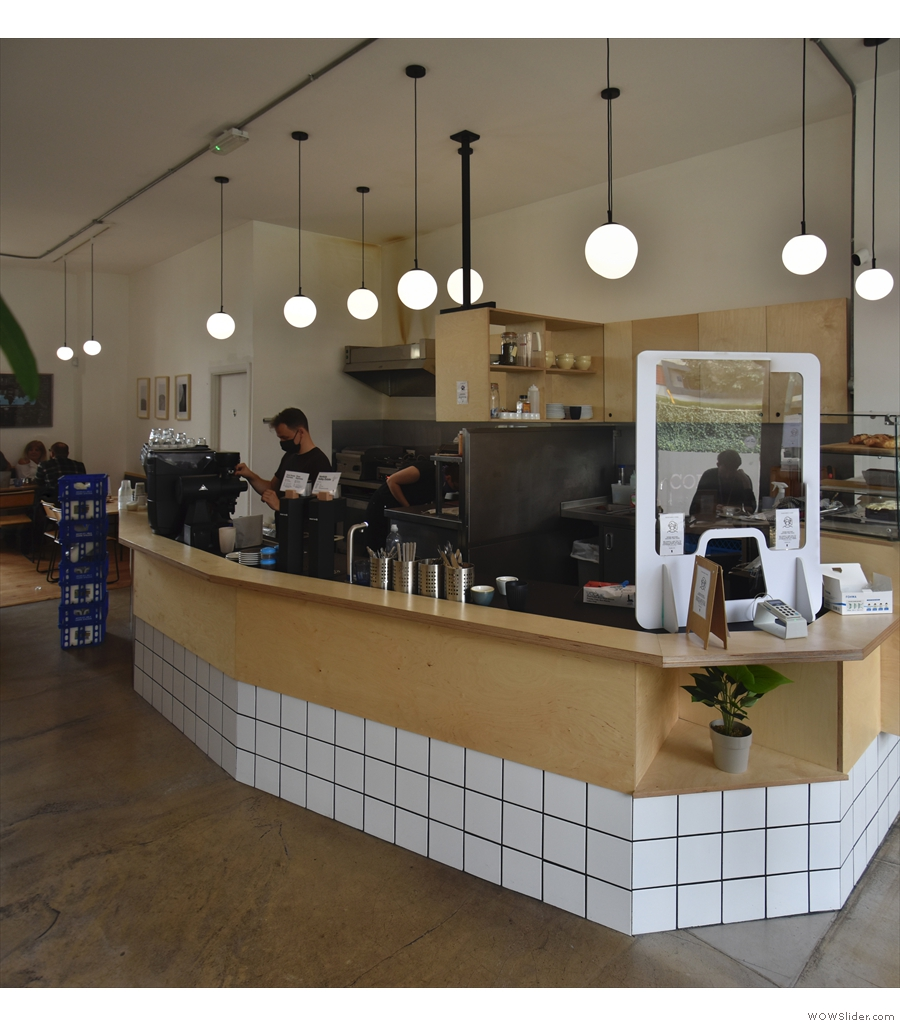 Quarter Horse Coffee, Birmingham, remodelled over the summer.