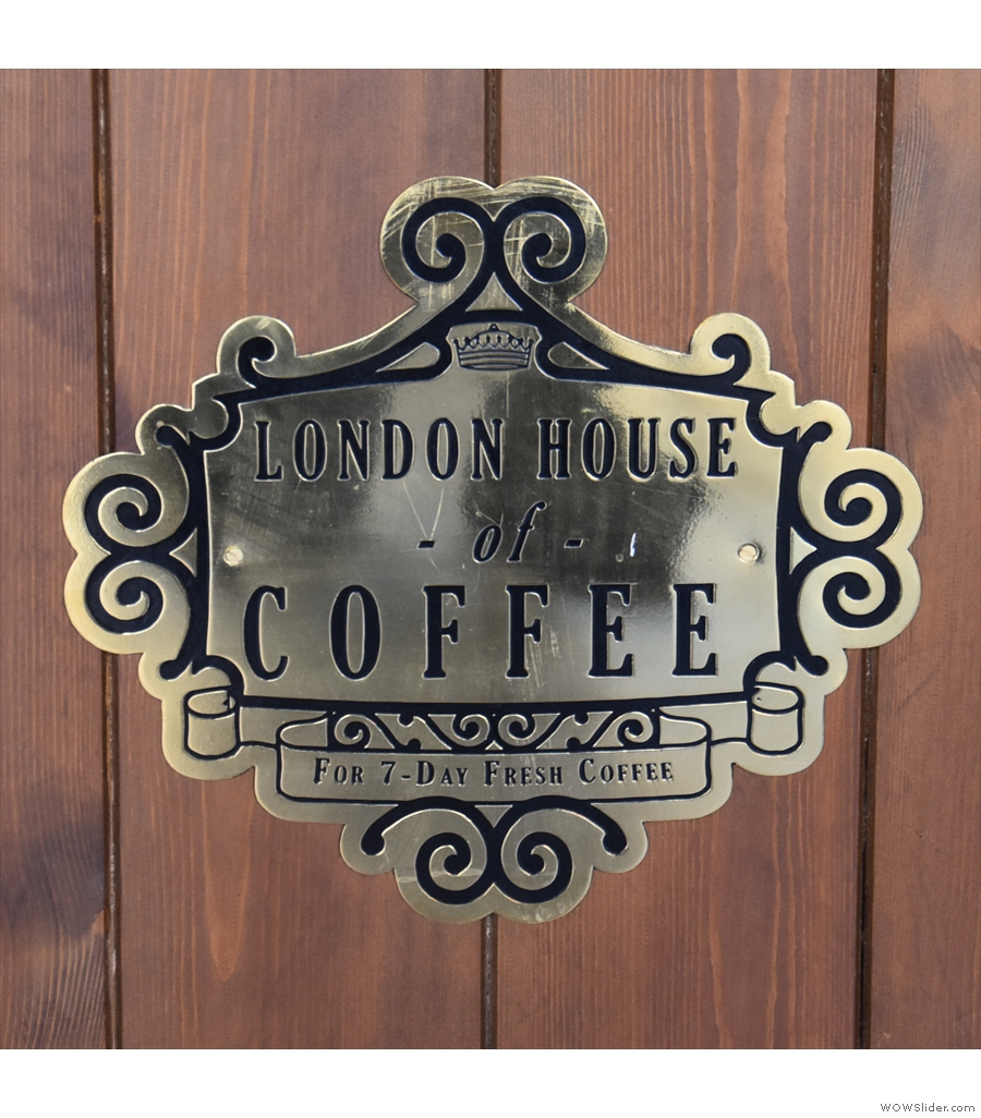Ceylon House of Coffee just oozes quality on Guildford High Street.