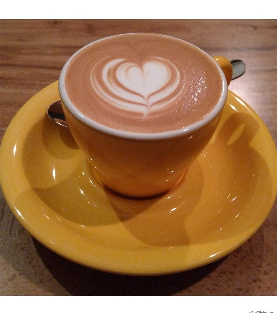 Obscure Coffee in Chester has a bright, open front and a cosy, dark room at the back.