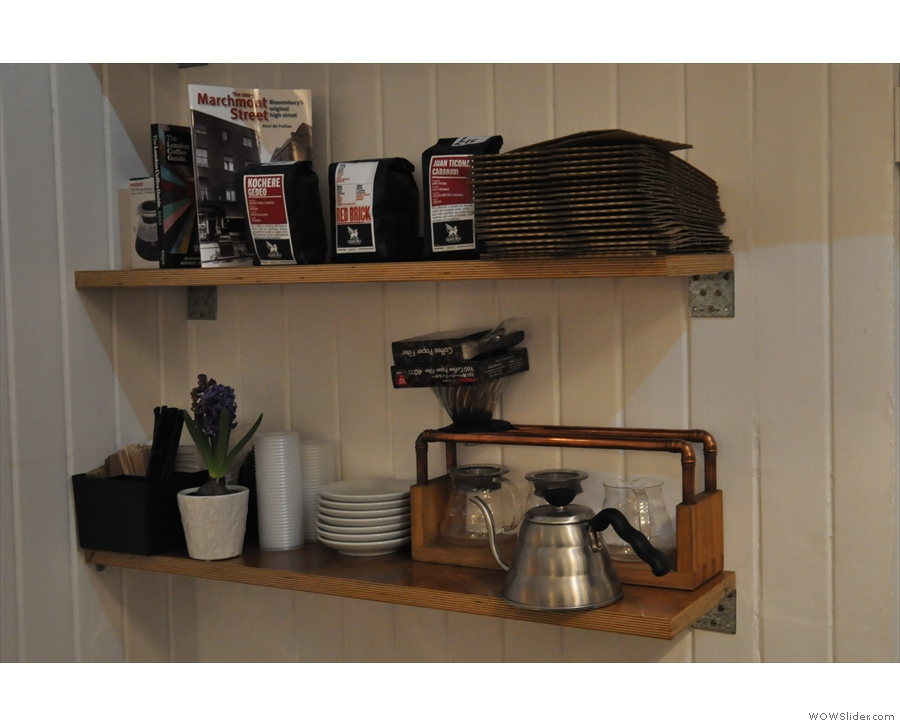 This is where the V60 filters live when not in action...
