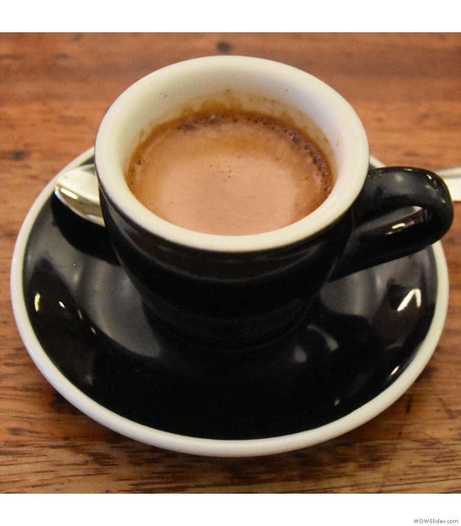And a third entry in a similar vein, Kaffeine in London.