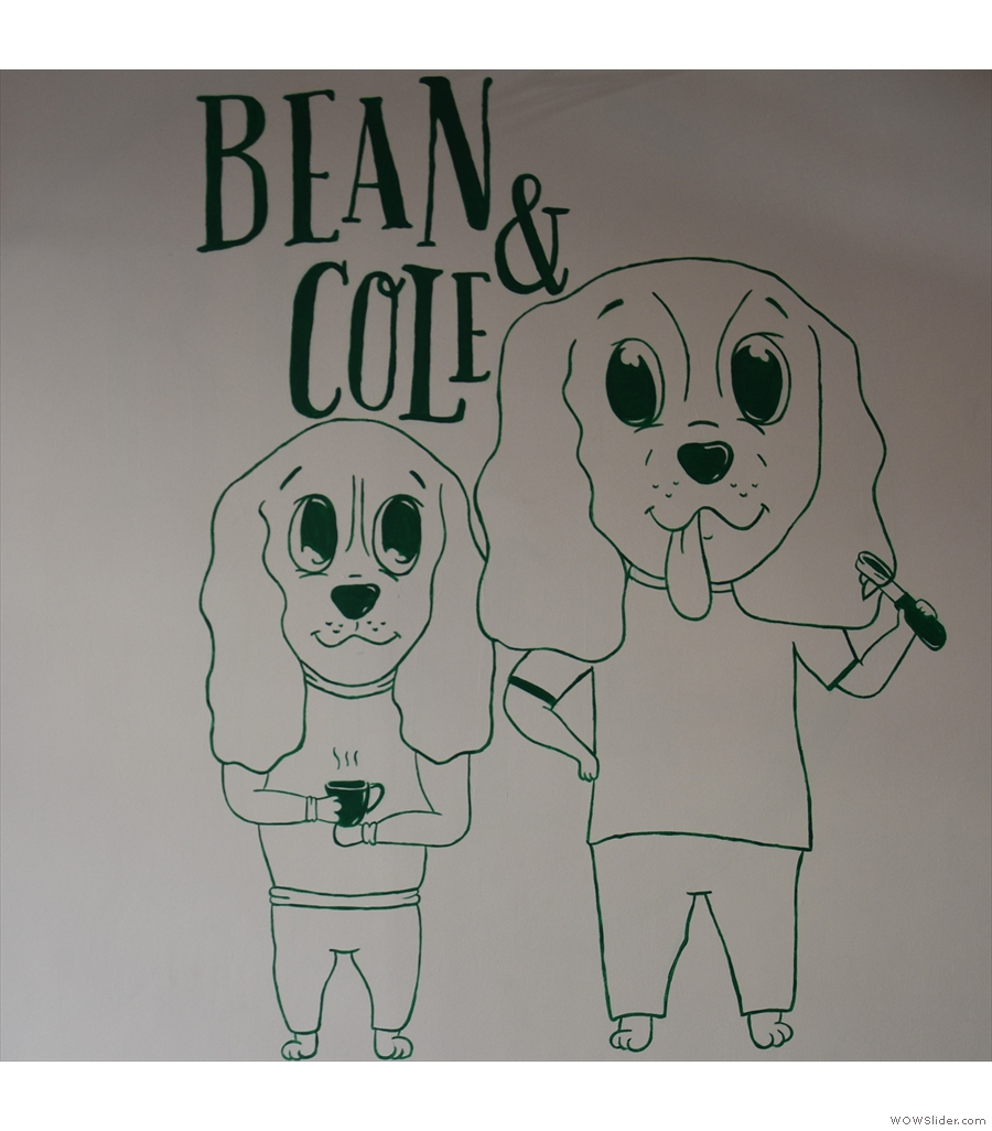 Bean & Cole, where I had this year's Best Cake.