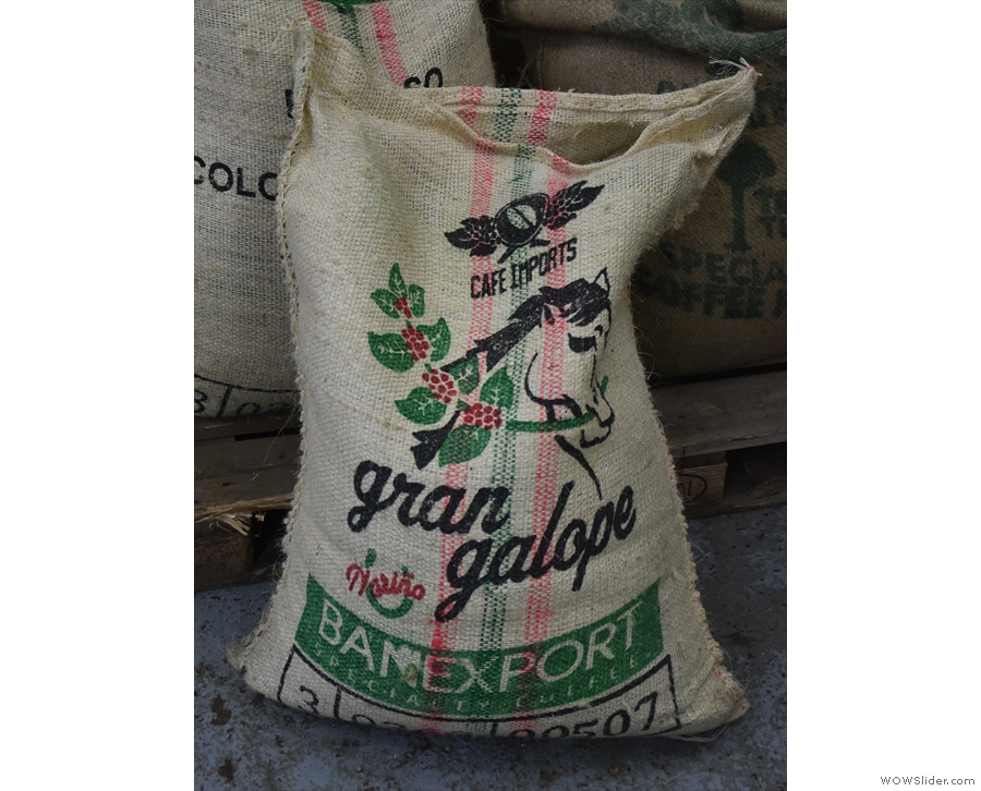 Some are from green bean importers like Cafe Imports...