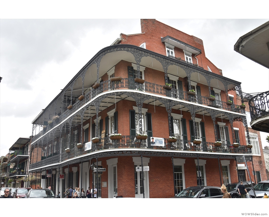 From there, I took to wandering around the French Quarter and admiring...