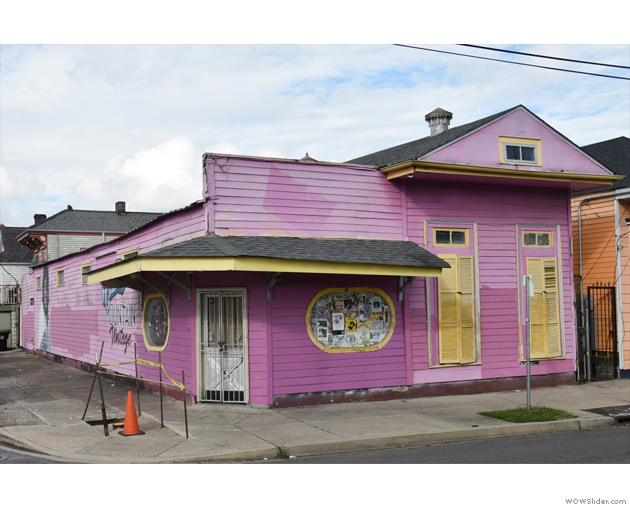 ... which made for an interesting contrast compared to the French Quarter.
