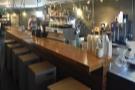 ... a lovely, basement-like coffee shop...