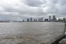 This is the view upstream towards the Central Business District and, beyond that...