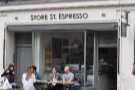 Store Street Espresso, unsurprisingly located on Store Street