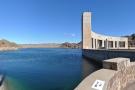 Lake Havasu, seen from the California side of the dam.