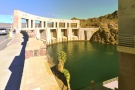 Next stop, the small (in width) but impressive Parker Dam built in 1934-38.