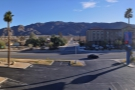 The view from the balcony of my Motel 6 in Twentynine Palms.