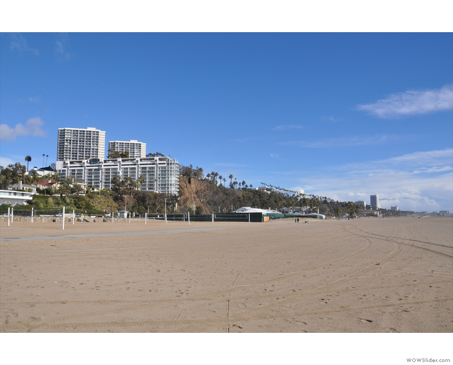 ... starting with these apartments on the bluff overlooking the beach.
