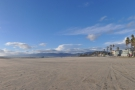 I think it's amazing that there's an unbroken stretch of sand from here to Santa Monica.