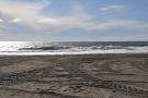 I spent some time watching (and listening to) the waves crashing onto the beach.