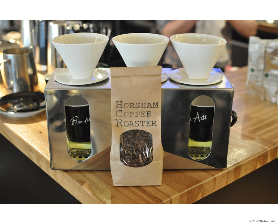 That same year, Bar des Arts upped its coffee game with Horsham Coffee Roaster.