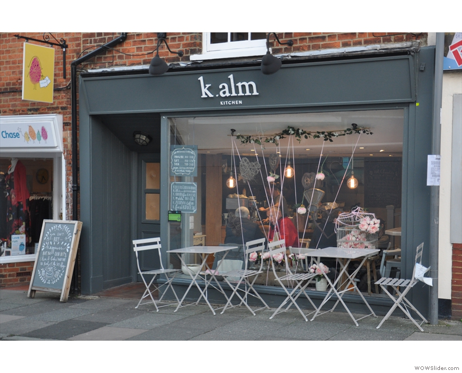 By 2015, Glutton & Glee had become Kalm Kitchen Cafe...