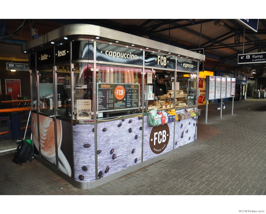 Flying Coffee Bean in Guildford Station took a similar route the following year.