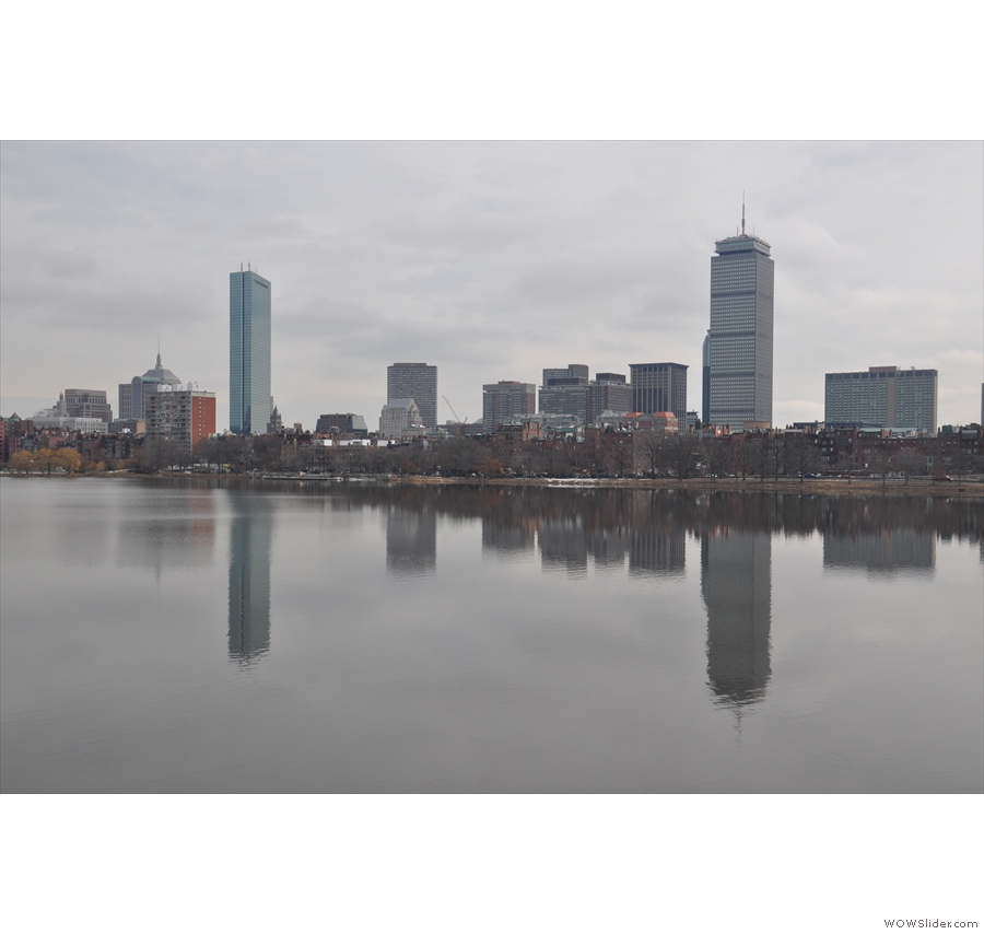 The fine city of Boston, seen here looking at Back Bay from across the Charles River, was my first stop of the recent tour. I found a number of excellent Coffee Spots, some old, some new. Two of my favourites are included in this gallery.