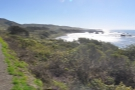 This is the bay, looking south from (I think) Ragged Point itself.