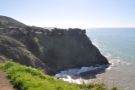 Back at the car and my next stop, just a short drive away, is this headland...