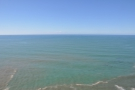 The view out to sea. Next stop, the eastern coast of China, on the other side of the Pacific.