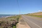 This is the view north, back towards the Big Sur.