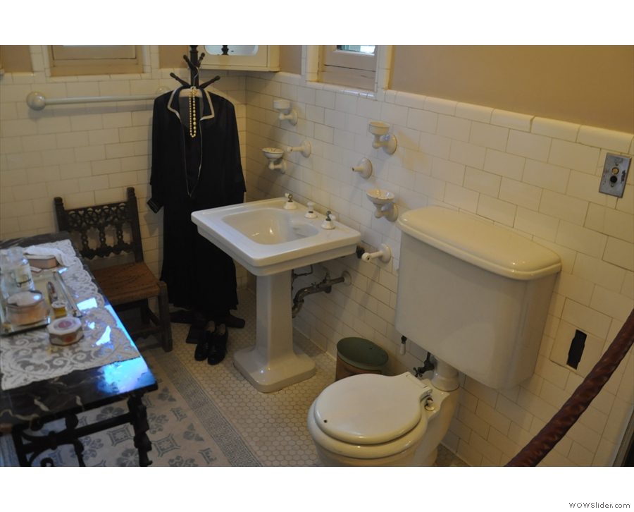 It's also got its own en-suite bathroom...