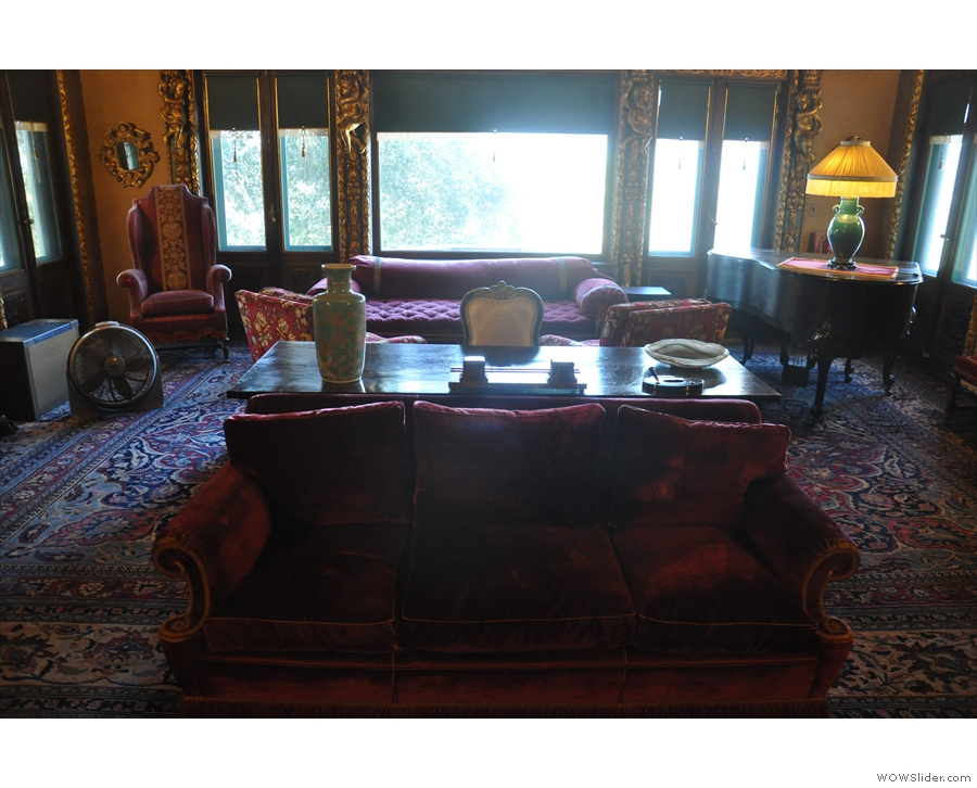 ... and then it's the (very large) sitting room...