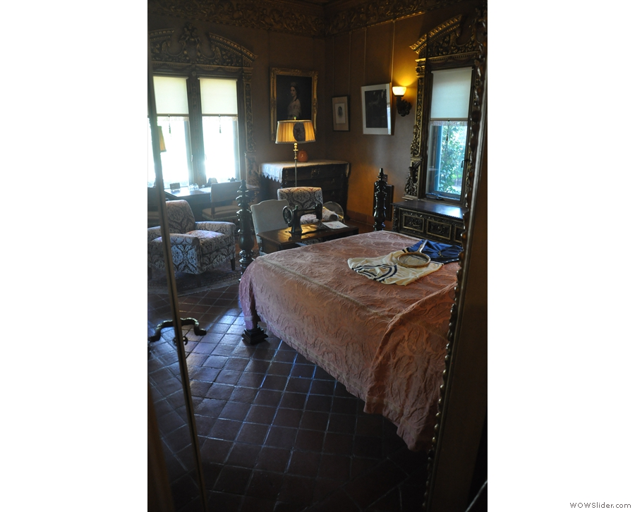 We also visited some of the bedrooms. It has eight in all...