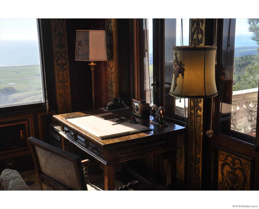 I was also very taken by this writing desk...