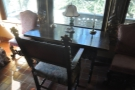 ... as well as a neat writing desk.