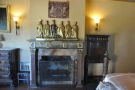 ... with a rather lovely fireplace...