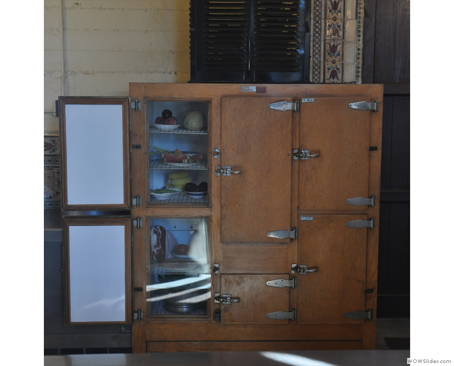 I also loved the old cupboards.