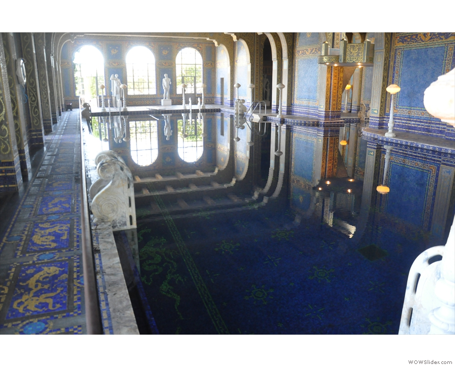 ... of the various Roman baths I've seen: I wonder if they looked like this in their pomp?