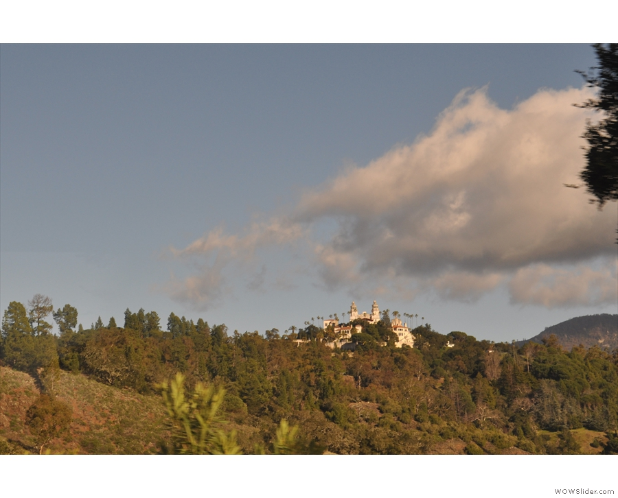 Soon I was on my way and it was time to say goodbye to Hearst Castle.