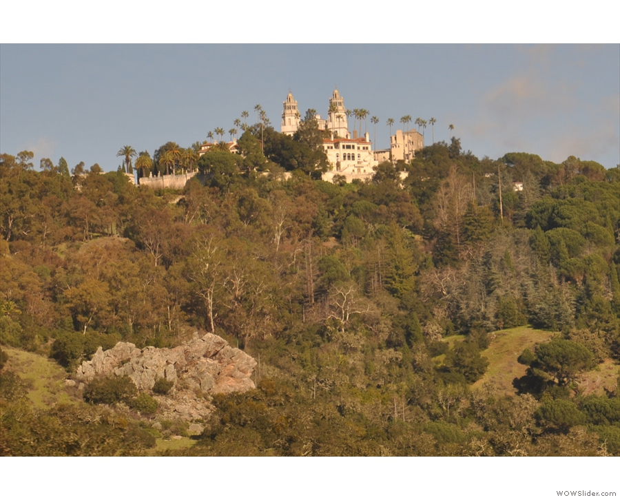 A last (close up) view of the castle on the hill.