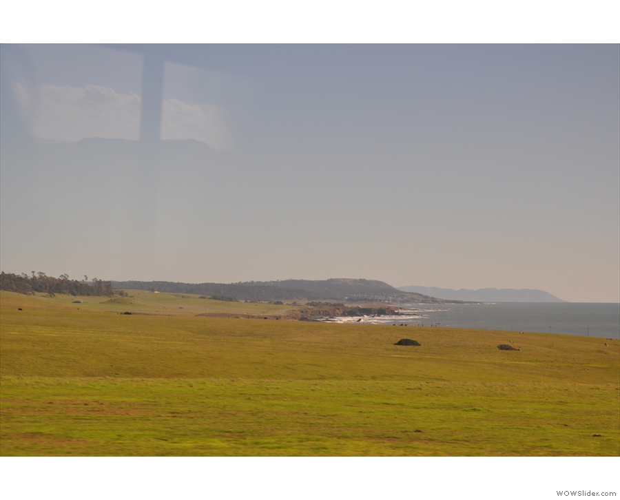 I'll leave you with a final view down the coast, which is where I'm going next.