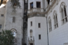 ... the Casa Grande  and headed for the tower in the corner, where a staircase led down...