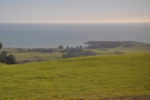 ... and here's the view southest to San Simeon Point...