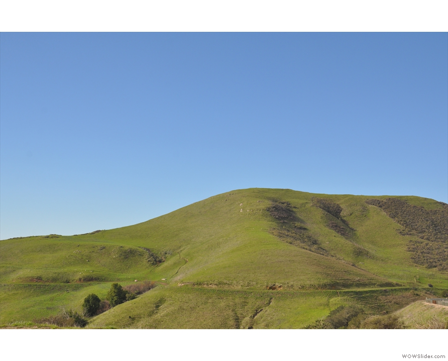 I love the rolling, green hills.