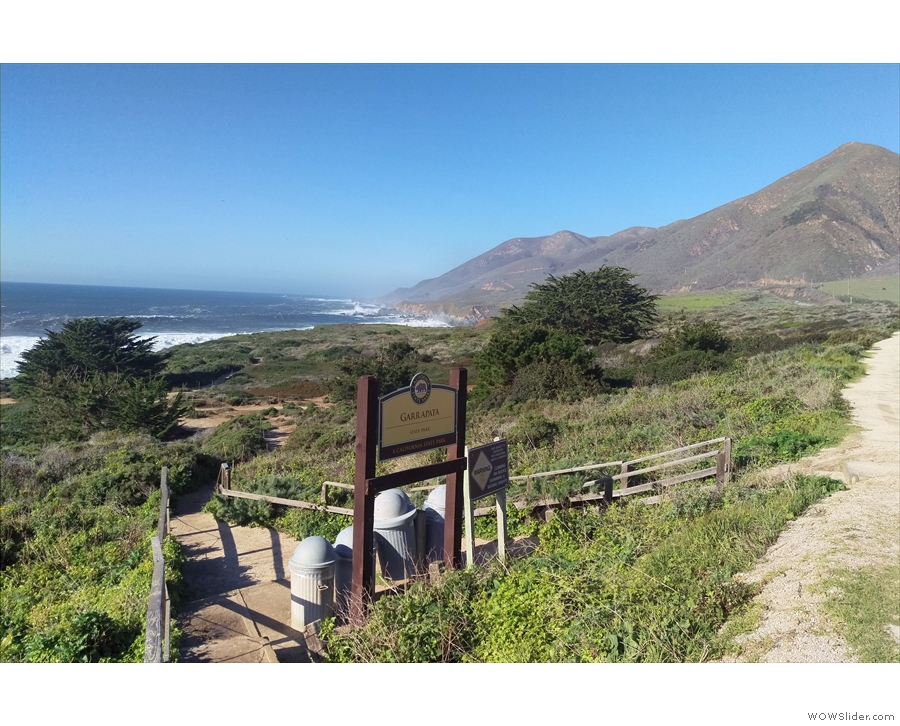 ... at Garrapata State Park, where I was actually inside the Big Sur.