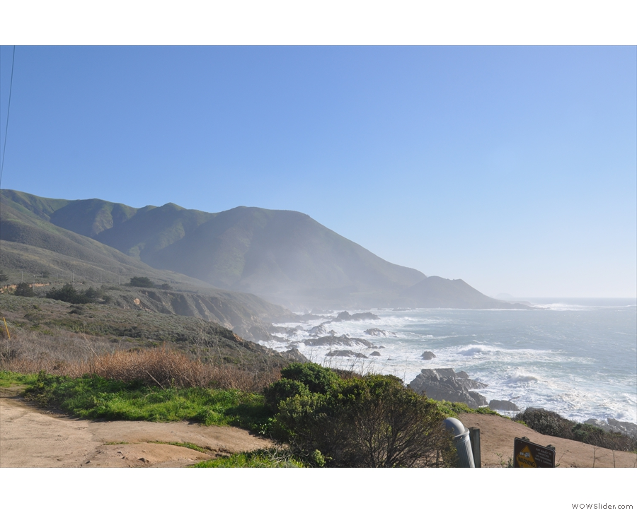 ... Soberanes Point, which is in the Big Sur (technically I was just north of the boundary).