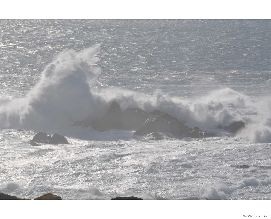 ... although I could have stood there for ages watching the waves...