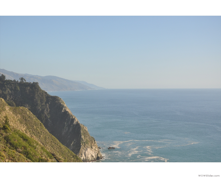 I'm not sure what that distant headland is, and I didn't get that far, because...