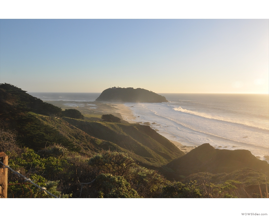... of Point Sur, close where to where I'd stopped on the drive down.
