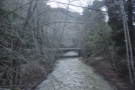 ... second bridge (leading to a house) a little way upstream which gave me this view.