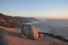 This distinctive stone marks Sea Otter Refuge View, which is where I decided to stay...